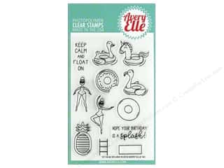 stamp: Avery Elle Clear Stamp Splash