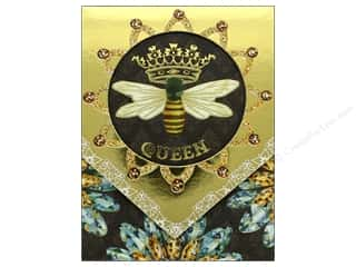 Punch Studio Note Pad Pocket Window Queen Bee