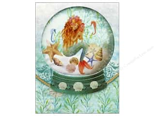 Punch Studio Note Pad Pocket Window Mermaid