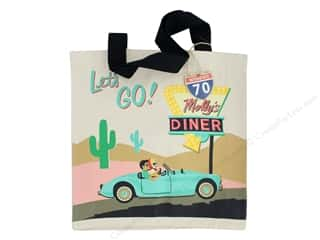 Molly & Rex Bag Road Trip Canvas Tote