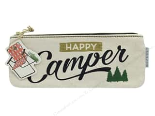 Gifts & Giftwrap: Molly & Rex Bag Happy Camper Zippered Pencil
