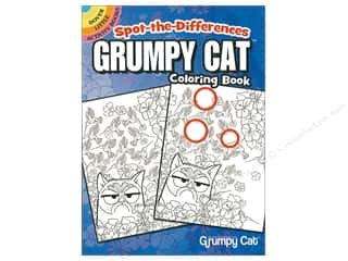 books & patterns: Dover Publications Little Spot The Differences Grumpy Cat Coloring Book