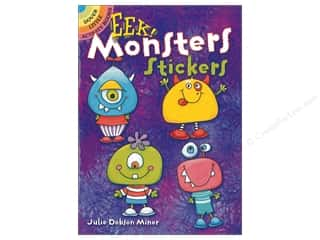 Dover Publications Little EEK Monster Sticker Book