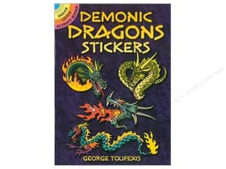 books & patterns: Dover Publications Little Demonic Dragon Sticker Book
