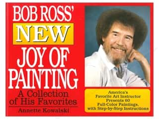 books & patterns: William Morrow Bob Ross New Joy of Painting Book