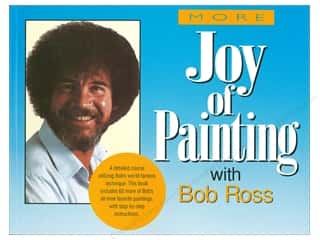 books & patterns: William Morrow Bob Ross More of Joy of Painting Book