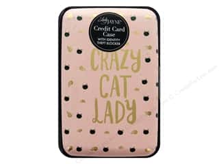Lady Jayne Case Credit Card Crazy Cat Lady