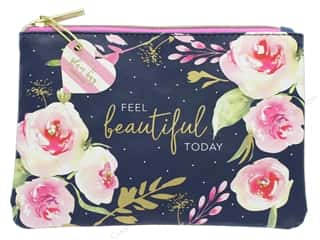 gifts & giftwrap: Lady Jayne Cosmetic Bag Glam Navy Roses Feel Beautiful Today