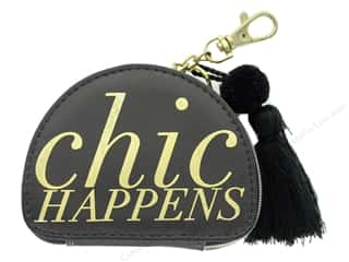 Lady Jayne Zip Pouch Chic Happens Gold Foil
