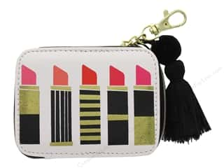 Lady Jayne Zip Pouch Lipsticks Gold Foil
