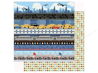 Clearance: Carta Bella Collection Passport Paper 12 in. x 12 in. Border Strips (25 pieces)