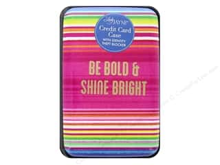 Lady Jayne Case Credit Card Serape Bold Gold Foil