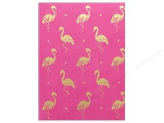 gifts & giftwrap: Lady Jayne Journal Faux Leather Pink Flamingo