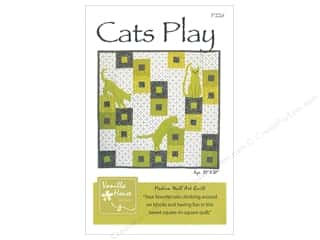 Vanilla House Designs Cats Play Pattern
