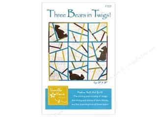 books & patterns: Vanilla House Three Bears in Twigs Pattern