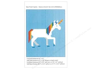 sewing & quilting: Sew Fresh Quilts Horse Unicorn Pattern