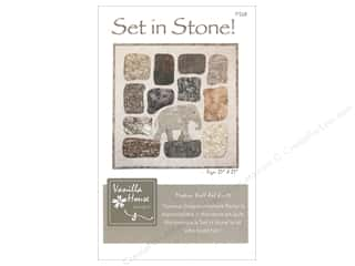 Vanilla House Set in Stone Pattern