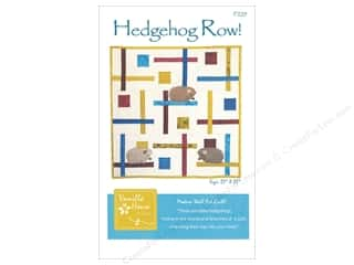 books & patterns: Vanilla House Hedgehog Row Pattern