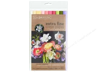 scrapbooking & paper crafts: Werola Lia Griffith Crepe Paper X Fine 10 pc Secret Garden