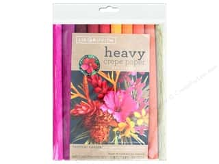 scrapbooking & paper crafts: Werola Lia Griffith Crepe Paper Heavy 10 pc Tropical