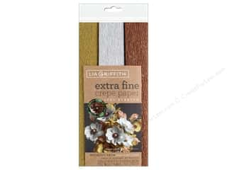 projects & kits: Werola Lia Griffith Crepe Paper X Fine 3 pc Metallic