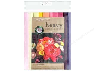 scrapbooking & paper crafts: Werola Lia Griffith Crepe Paper Heavy 10 pc English