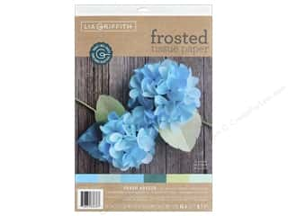 scrapbooking & paper crafts: Werola Lia Griffith Tissue Paper Frosted 24 pc Breeze