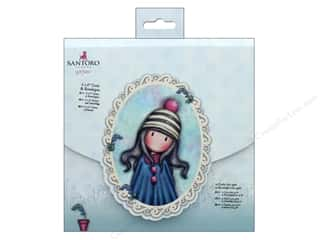 Docrafts Santoro Gorjuss In The Garden Card & Envelope 6 in. x 6 in.12pc