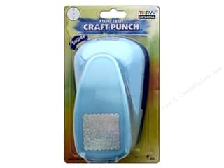 Uchida Clever Lever Super Jumbo Craft Punch 1 1/2 in. Scallop Square