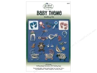 scrapbooking & paper crafts: Quilled Creations Baby Theme Quilling Kit