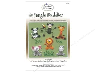 scrapbooking & paper crafts: Quilled Creations Jungle Buddies Quilling Kit