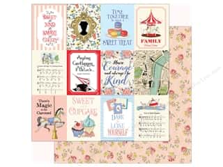 Carta Bella Practically Perfect Paper 12 in. x 12 in. Journaling Cards 3 in. x 4 in.