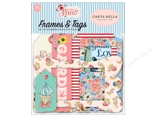 scrapbooking & paper crafts: Carta Bella Collection Practically Perfect Ephemera Frames & Tags