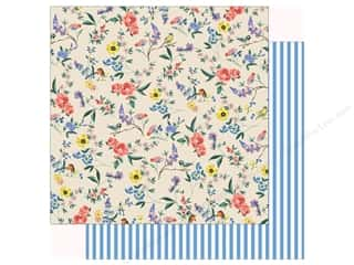 scrapbooking & paper crafts: Carta Bella Practically Perfect Paper 12 in. x 12 in. Garden Melody (25 pieces)