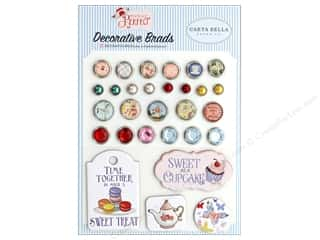 scrapbooking & paper crafts: Carta Bella Collection Practically Perfect Deco Brads