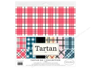 Cardstock: Carta Bella Collection Tartan 1 Collection Kit 12 in. x 12 in.