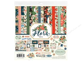 Carta Bella Collection Flora 2 Collection Kit 12 in. x 12 in.