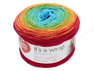 Red Heart It's A Wrap Rainbow Yarn 623 yd. #9329 Fiesta