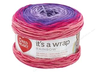 Red Heart It's A Wrap Rainbow Yarn 623 yd. #9357 Parfait