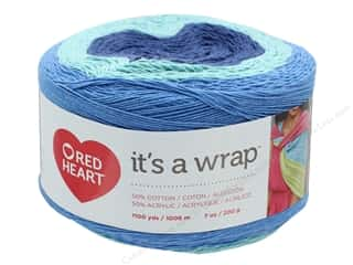 yarn: Red Heart It's A Wrap Yarn 1100 yd. #9256 Documentary