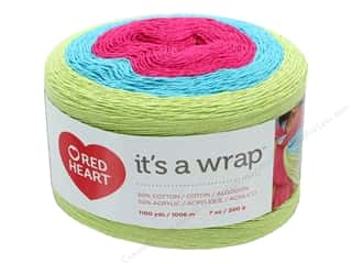 yarn & needlework: Red Heart It's A Wrap Yarn 1100 yd. #9255 Comedy