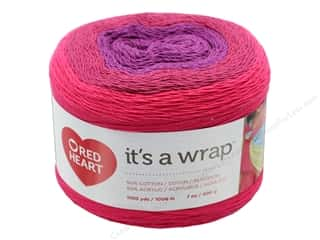 yarn & needlework: Red Heart It's A Wrap Yarn 1100 yd. #9274 Romance