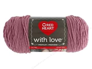 yarn & needlework: Red Heart With Love Yarn 370 yd. #1711 Cameo