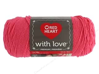 yarn & needlework: Red Heart With Love Yarn 370 yd. #1939 Papaya