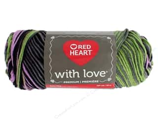 yarn & needlework: Red Heart With Love Yarn 230 yd. #1933 Echo