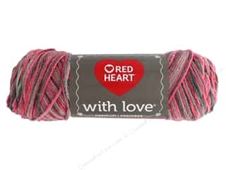 yarn & needlework: Red Heart With Love Yarn 230 yd. #1968 Delightful