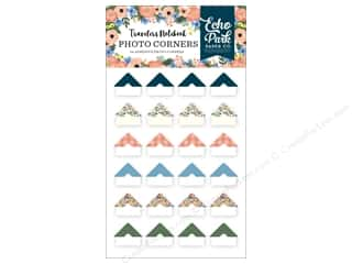 scrapbooking & paper crafts: Echo Park Collection Travelers Notebook Fancy Flora Photo Corners