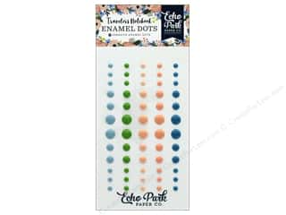 scrapbooking & paper crafts: Echo Park Collection Travelers Notebook Fancy Flora Enamel Dots