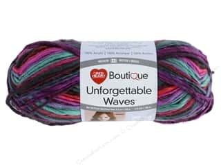 Red Heart Unforgettable Waves Yarn 119 yd. #3986 Bazaar