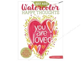 books & patterns: Design Originals Just Add Watercolor Happy Thoughts Book